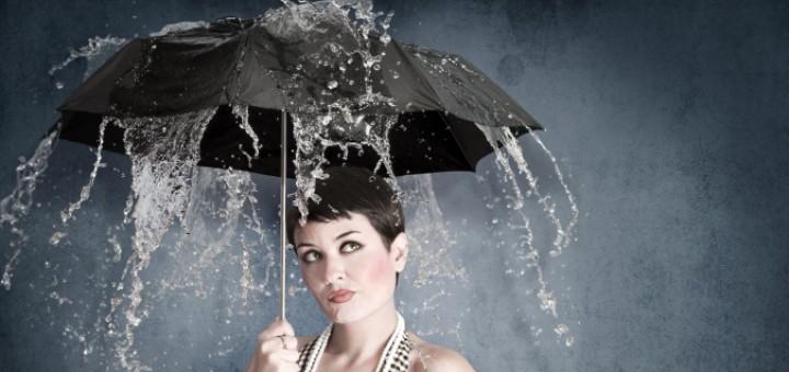 Women-In-Rain