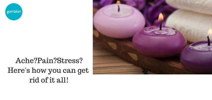 Get rid of that annoying ache! - Through a Spa
